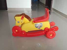 Play School Kids Toys, ie Scooty, Horse, Sea-Saw and Kids Tent
