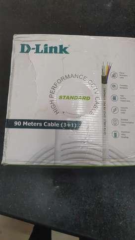 D-Link brand 3+1 90mts 2 coils