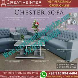 Sofa set master style chair office table Computer study workstation