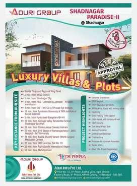 Shadnagar (Luxury Villas & Villa Open Plots)