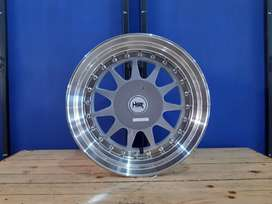 Velg HSR Ikimasu R15 For brio,agya,ayla,yaris,swift,jazz,mobilio dll