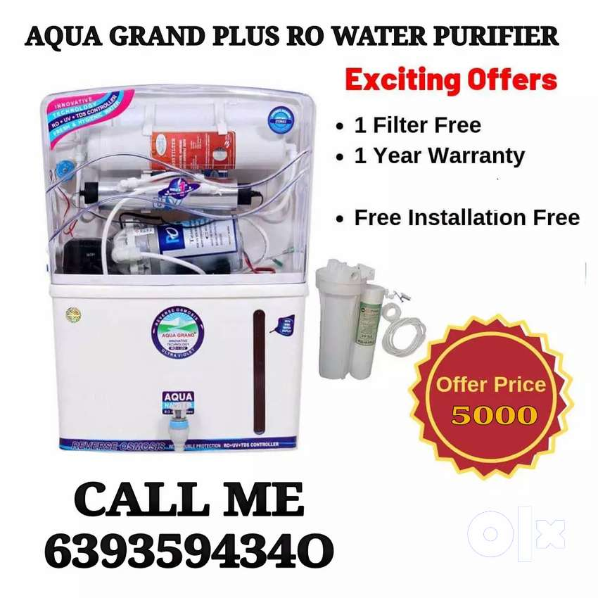 AQUA GRAND PLUS RO WATER PURIFIER WITH INSTALLATION 0