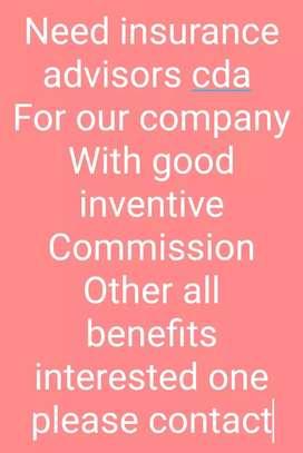 Insurance industry advisors cda