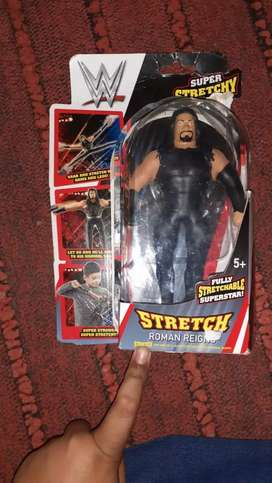 Wwe original stretchable action figure of Roman reigns