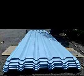 Kanopi alderon berongga warna biru