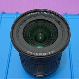 Lensa Nikon AF-P DX Nikkor 10-20mm F 4.5-5.6G VR