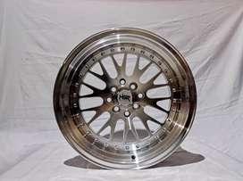 Velg Racing Ring 16x8/9 H8(100/114, 3) Silver Polish