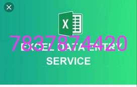 Computer operator job/ pdf to MS- word offline work/home based data e