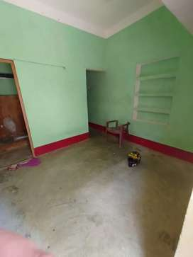 Single room with attached bathroom and kitchen