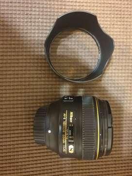 Nikon 58mm f1.4 premium