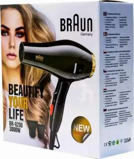 New 2021 Professional Braun Hair Dryer BR-9200