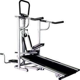 cosco manual treadmill 4 in 1