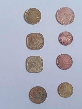 Rare collection of coins