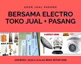 Toko Jasa Pemasangan Antena TV PF HDU Digital