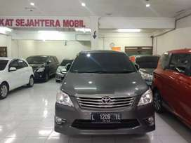 Innova G bensin Luxury matic/AT tahun 2012 km