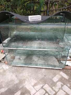 Aquarium 120*40*40 cm tebal 8mm