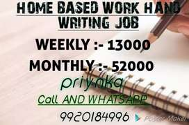 Home based work