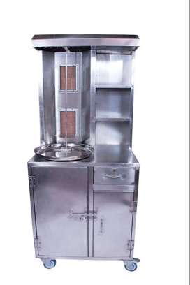 Chicken Shawarma Machine Full Cabinet