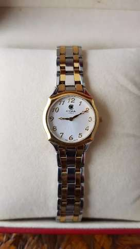 Original jam tangan CYMA swiss