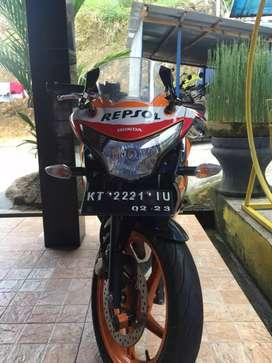 sepeda motor CBR 250 Tahun 2012