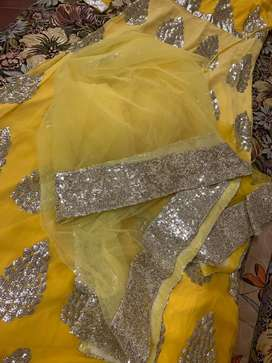 Sequin Gown for Parties