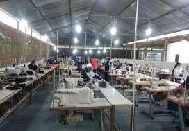Pabrik Garment Murah Siap Produksi