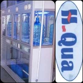 Usaha Air galon ; depot 3 pengisian 1 cuci