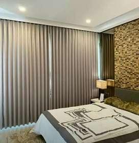 Promo gorden mewah Vertikal Vitrase Curtain blinds wallpaper