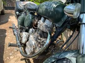 Limited edition Military green colour Bullet electra