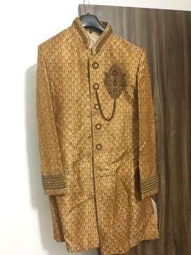 Sherwani used only once