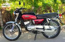 YAMAHA RX100 paper current 2024 full insurance current 1 year