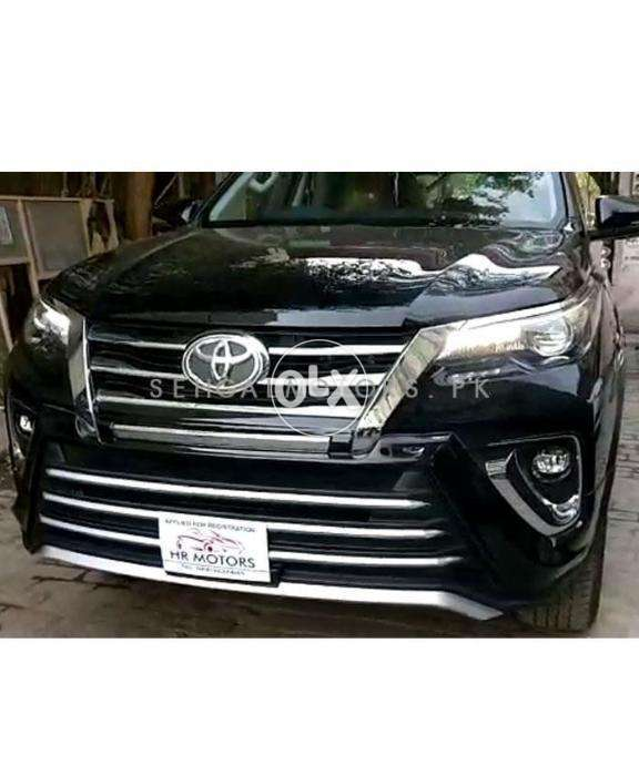 Toyota Fortuner Zigma Style Body Kit Thailand 2 Pieces - Model 2017 - 0