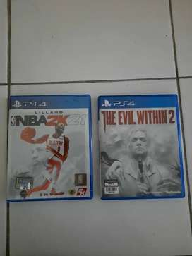 NBA 2K21 The Evil Within 2 BD PS4