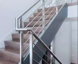 Railing tangga balkon stainlist 0366