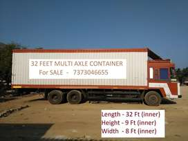 TATA 2518XL 32Ft container BS III Lorry / Truck / Closed Body