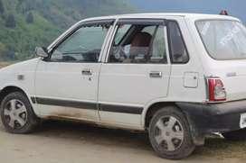 Maruti Suzuki 800 2000 Petrol 68579 Km Driven