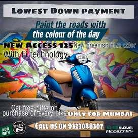 Suzuki Access 125 on lowest Downpayment
