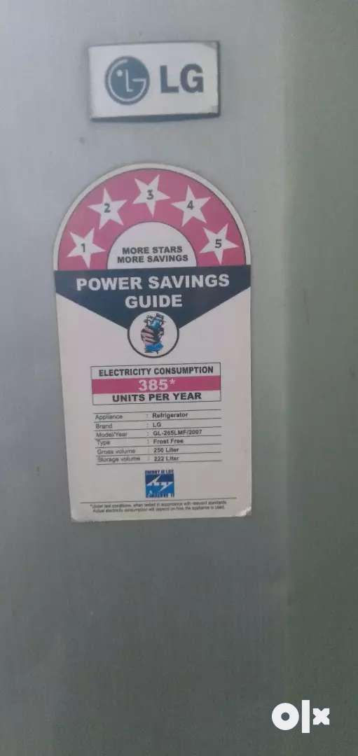 LG Fridge/ Refrigerator 250lt double door 0