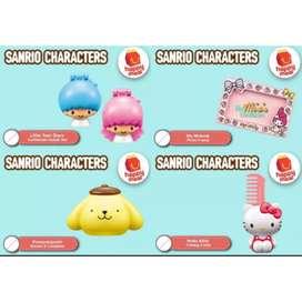 Mainan Happy Meal McDonald's  Sanrio Character (4pcs)