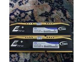 RAM Team Elite 8gb ( 4gb x 2 ) ddr3 1600 mhz RAM CPU PC KOMPUTER