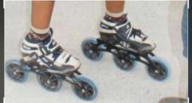 Professional inline skating shoes