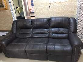 6seater sofa set with 5 recliners