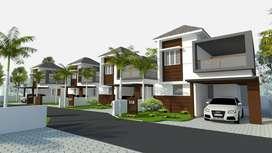 Spacious 3Bhk villas Opp. PK Das Medical College | 43.90 L