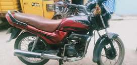 A baike in good condition
