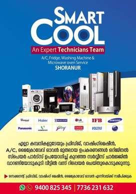 Ac, washing mechine, fridge and microwave service