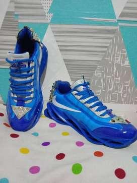 Sepatu Nike air max blue size 42