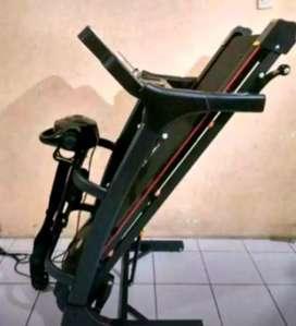 Black New Tl630(Sport Treadmill 3 fungsi)