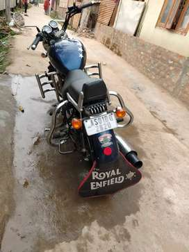 Dark blue thunderbird price Rs 95000/-