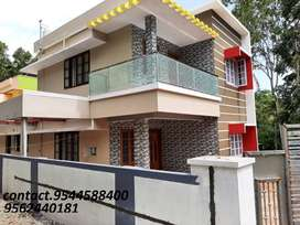 6 cent plot with 2000 sq.ft 4BHK house karicod