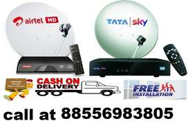 TATA SKY & AIRTEL NEW DTH CONNECTION SAME DAY ACTIVATION